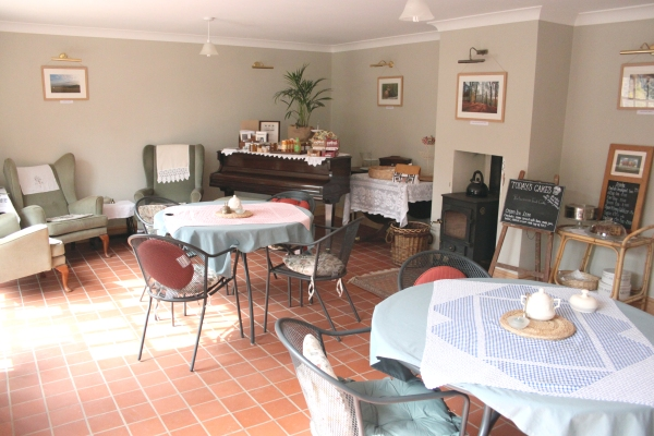 Hopesay Glebe farm tearoom