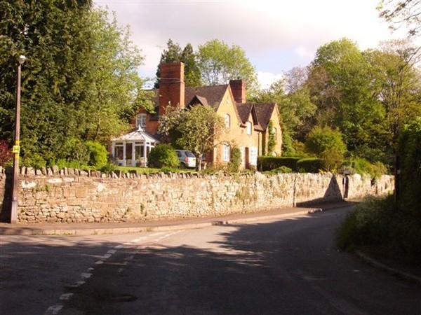 Hopesay village South Shropshire AONB